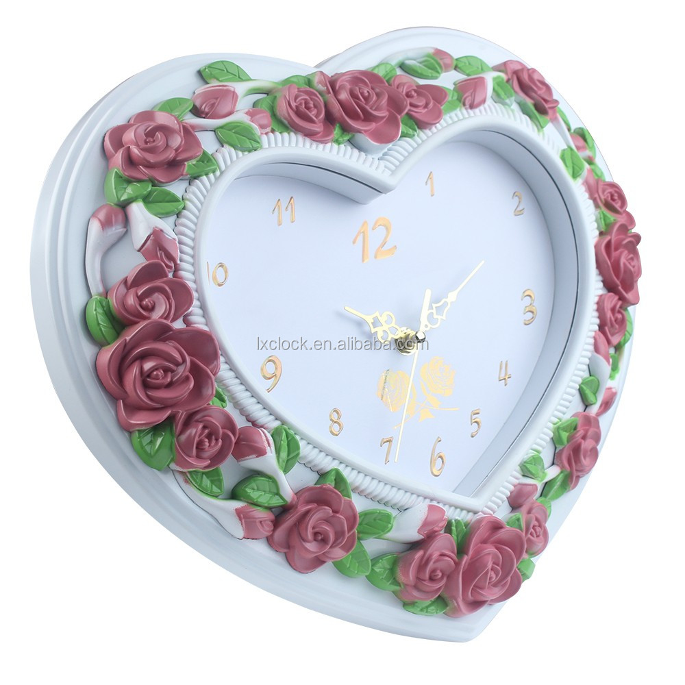 Artistical type decorative wall clock