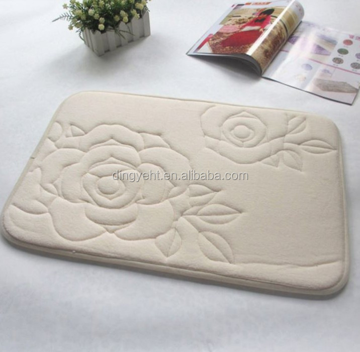Mini Style and Door,Bath,Floor Use Townhouse Rugs Memory Foam Bath Rug