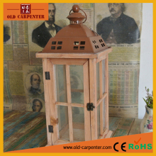 New design decorative wooden lantern