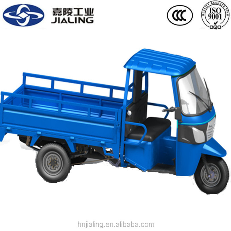 Mechanical hydraulic parking system 3 wheel truck with canopy