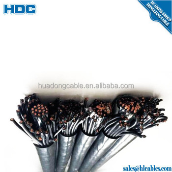 instrument cable price mutil core control cable machanical
