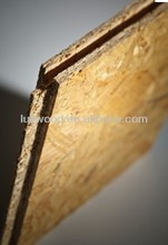 1220*2440mm Slotted OSB with tongue and groove