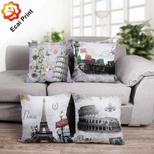 HOT SALE Custom made sublimation digital printed decorative throw cushion covers