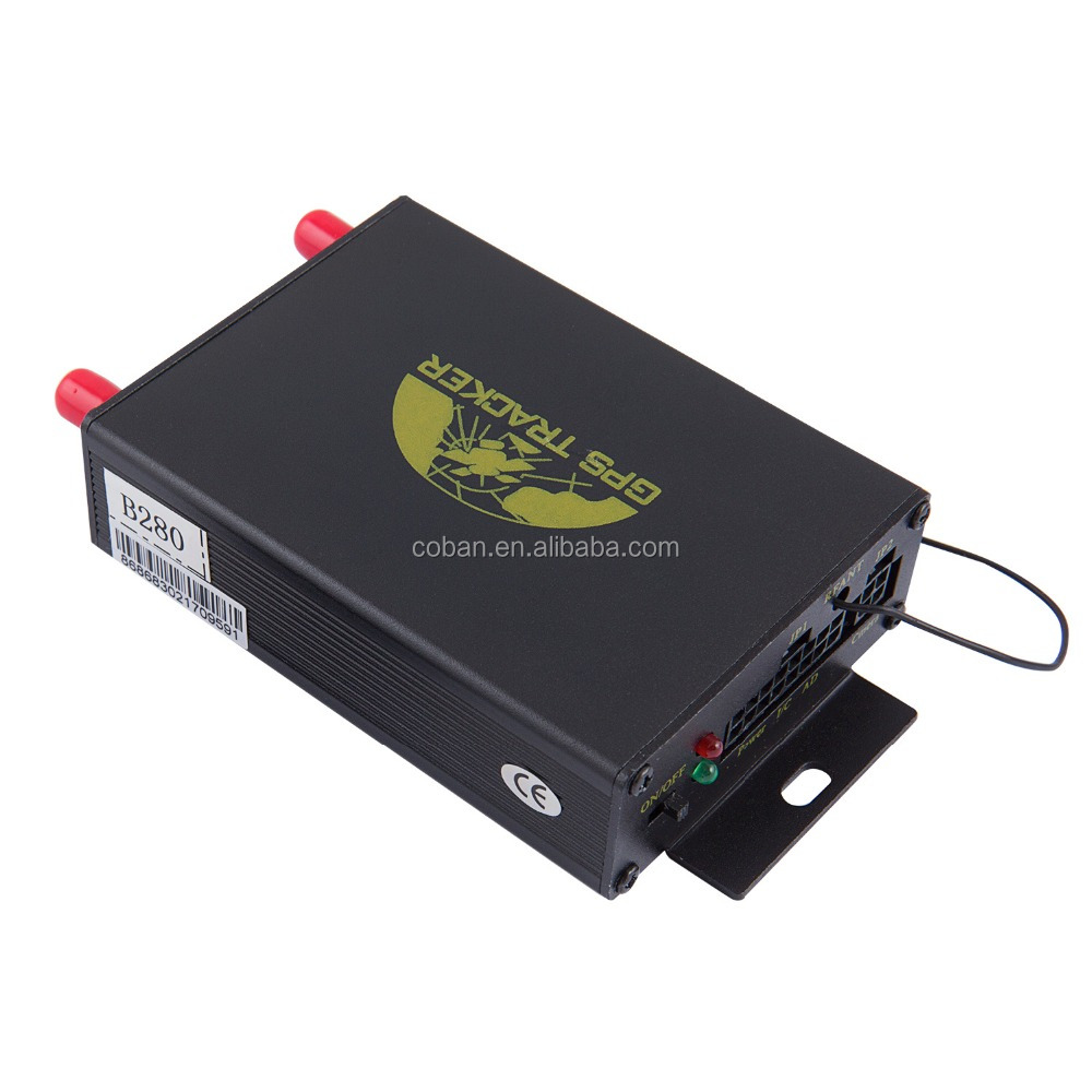 Vehicle fleet management Gps tracker 105A with speed governor speed limit device