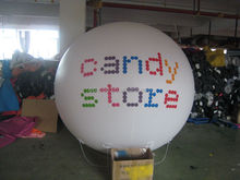 PVC helium balloon, advertising flying balloons with logo printing made in China