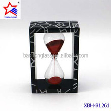 Acrylic frame kitchen hourglass for cooking