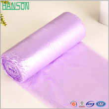 Compostable plastic Heavy duty garbage bag on roll make in dongguan china