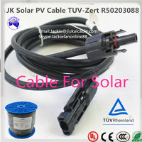 PV1-F Solar System Cable 2.5/4.0/6.0mm2 twin solar wire 2.5 solar atmospheric water generator