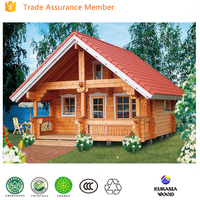 wholesale European solid wood house camping house portable wood house for sale