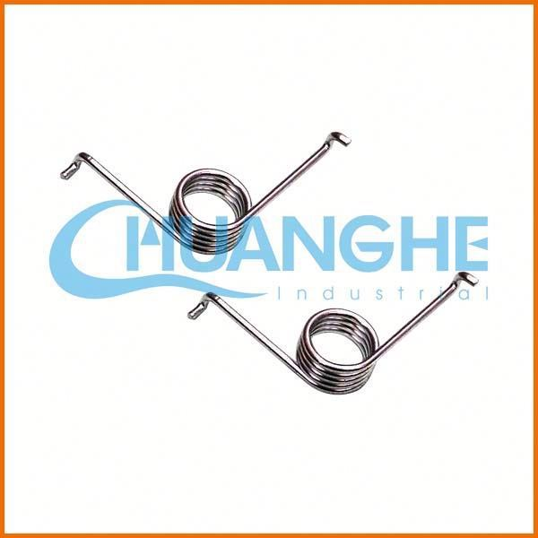 Customized high-strength nickel plated steel torsion spring spiral torsion