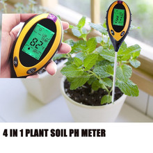 Digital 4 em 1 Planta pH/Temperatura/Umidade/medidor de umidade do solo Sunlight KC300B