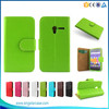 Book Style Wallet Cases With Card Slot PU Leather Flip Phone Case For Digicel DL810