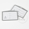 Company Business Designs Best Silver Card