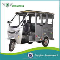 New model 4 to 6 passenger 3 wheeler electric tuc tuc