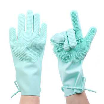 2019 Magic Reusable Silicone Gloves waterproof cleaning  protective gloves single-side gloves