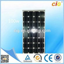 CE Approved High Quantity flexible thin film solar panel 12v