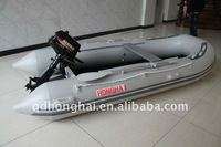 engine boat HH-S380 aluminum floor inflatable boat