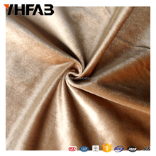100% Silk Velvet Fabric/Crushed Velvet Fabric/Brushed Polyester Spandex Fabric