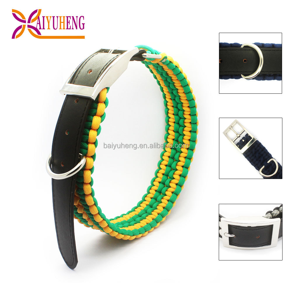 hot selling leather dog leads collar extenders products