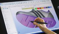 3D footwear design software for manufacture
