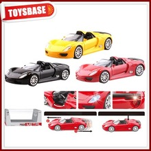 Promotional 1:28 scale plastic pull back car toy