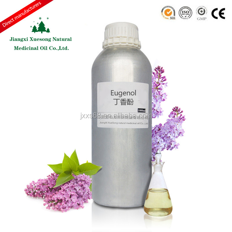 100% eugenol manufacture export with analgesic effect