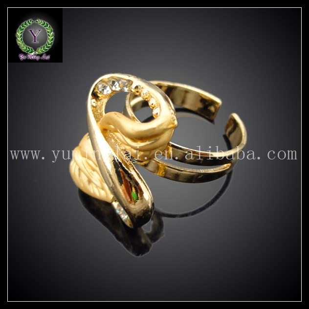 factory price top quality special leaf design 24K gold plated jewelry set FHK1420