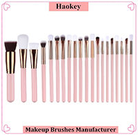 7pcs Pro Fashion Makeup Brush Cosmetic Brushes Tool Kit Cup Holder Case