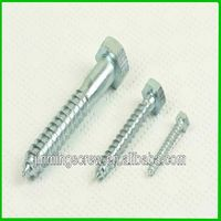 Widely use single thread chipboard wood screws
