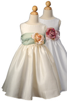latest frock lace children kids evening dress for girls
