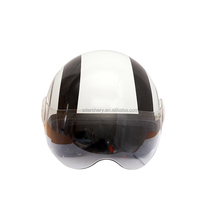 Motorbike safety helmets ABS material open face helmet