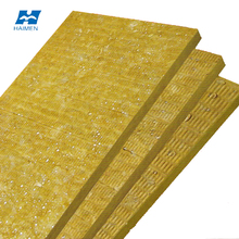 high quality fireproof insulation acoustic wall rock wool panel