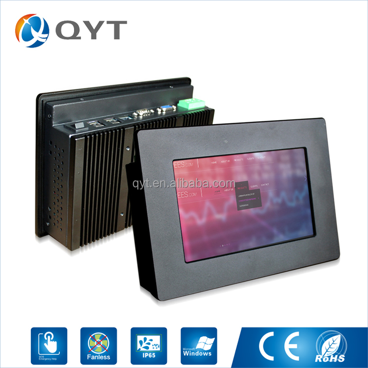 "Attractive Design 64 bit thin clients 7"" touch all in one mini pc rs232"
