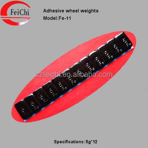 Black spraying adhesive wheel balance weight