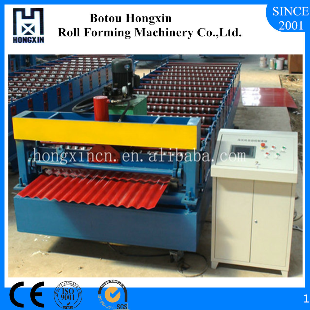 CE&ISO Certified Corrugated Iron Roofing Sheet Making Machine, Aluminum Sheet Making Machine, Galvanized Corrugated Steel Sheets