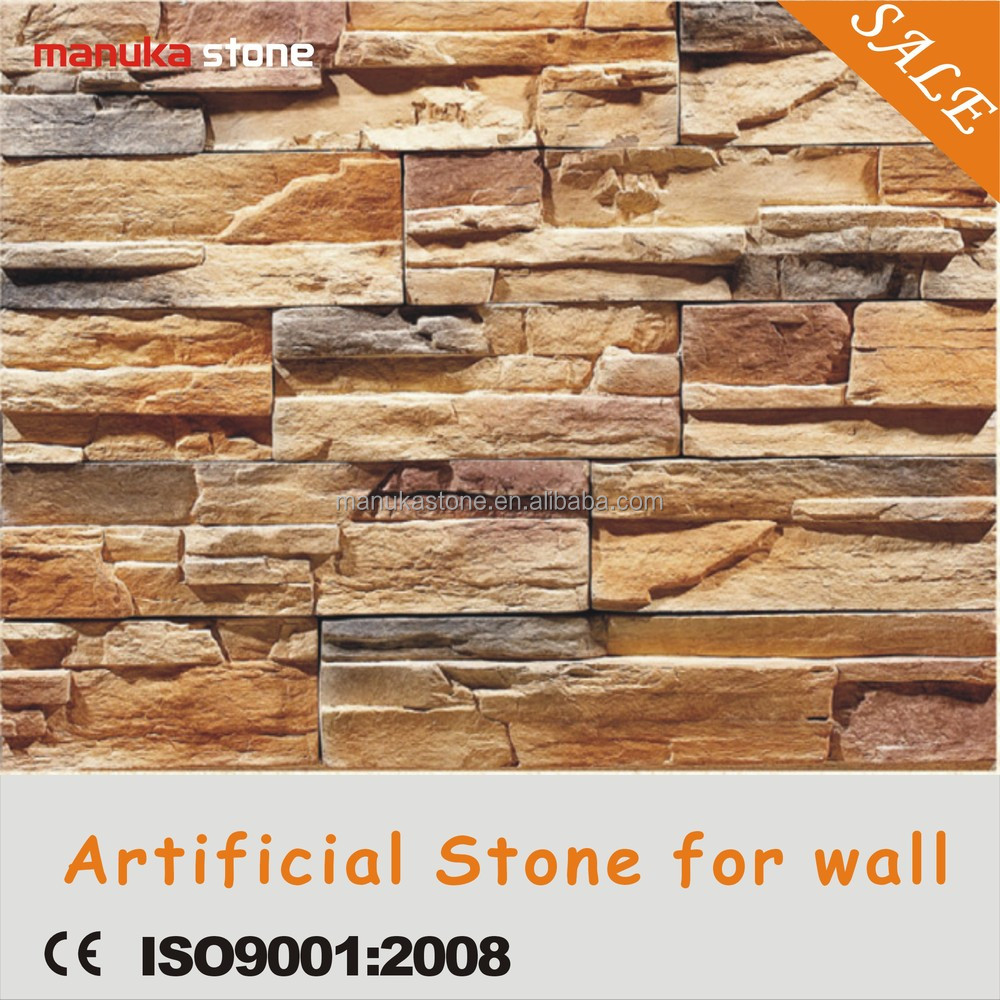 2015 Faux Stone Interior Walls Made In Foshan Guangzhou Cultured Stone