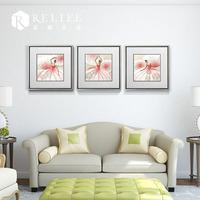 3D flower oil painting