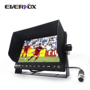 "Competitive price 4.3""/5""/6""/7""/9""/10.1 inch screen size optional lcd reverse color monitoring system car rear view monitor"