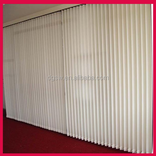 Best price PVC plastic clips aluminium rail vertical window blinds for living room design