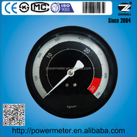 Back type steel case 100mm or 4 inch economic pressure gauge for cars 700kg