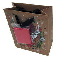 Brand new recycled kraft paper bag for wholesales