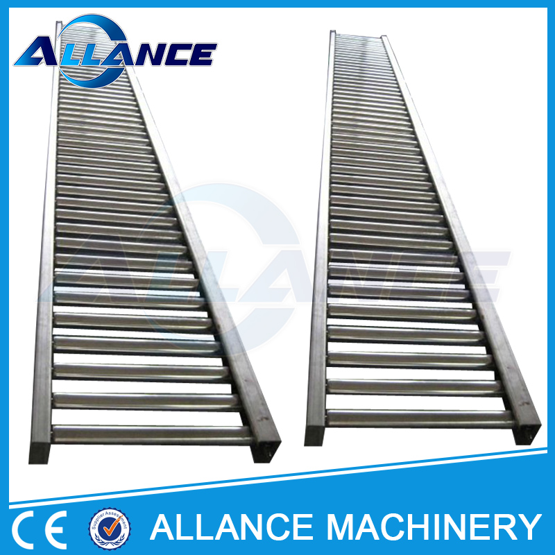 359 pallets&tray gravity roller conveyor table
