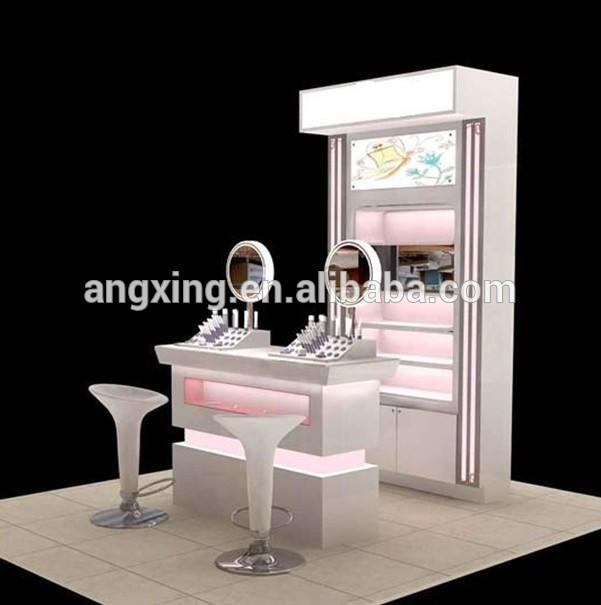 Profesional personalizada maquillaje muebles estación de venta
