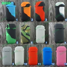 19 beautiful color Electronic Cigarette silicone case/skin/sleeve/cover for IQOS