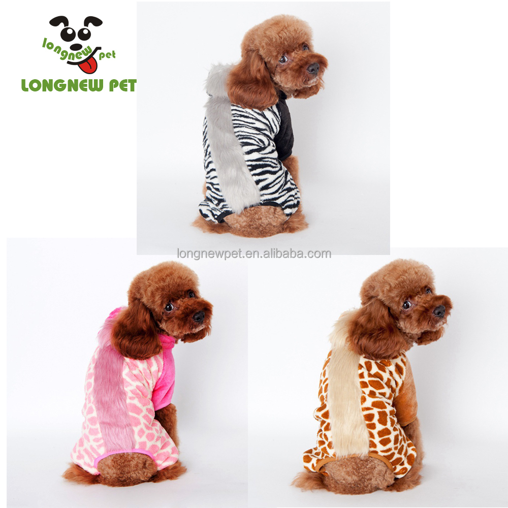 New Style Shake Velvet Winter Dog Costume For Puppy Tracksuit In Many Colors Warm Clothing