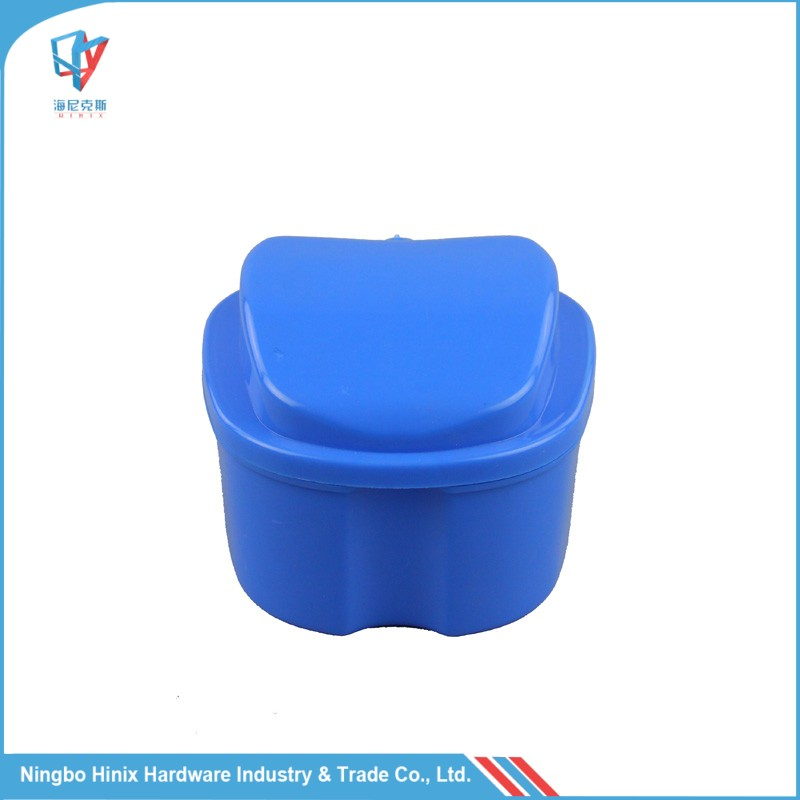European popular Plastic Dental Denture Bath Carry Box