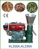 22hp diesel powered biomass sawdust making machine/small poultry feed mill for sale