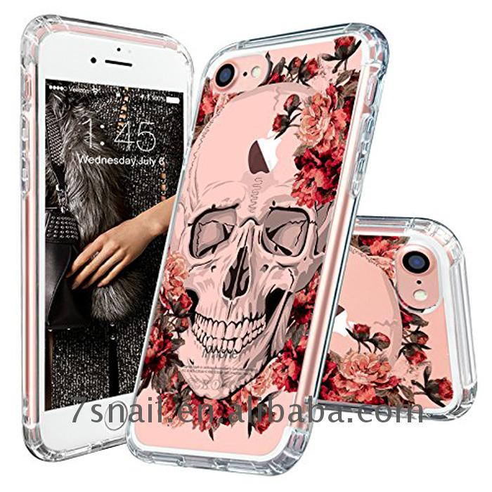 guangzhou UV printing clear TPU cover case for iphone5 5s SE 6 6s Plus 7 Plus, design printed cell phone case custom made