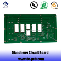 custom tv circuit board pcb components in shenzhen factory