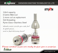 2015 Kingtons newest Storm high quality no leaking bdc clearomizer e cigarette